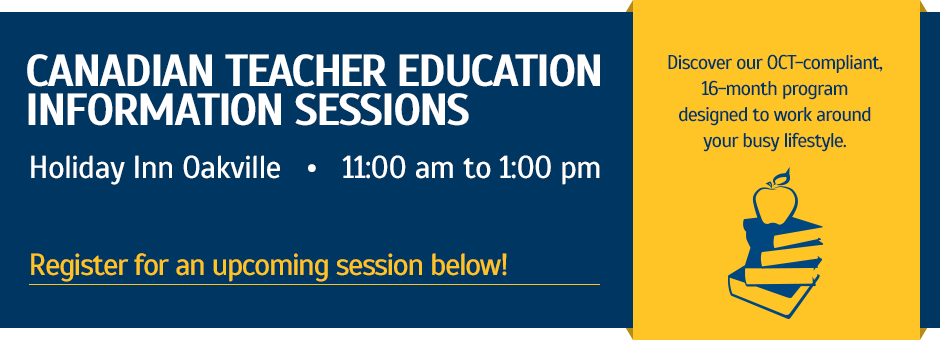 Canadian Teachers Education Information Session