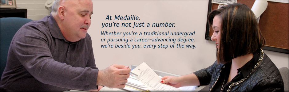 At Medaille, Your Are Not Just a Number