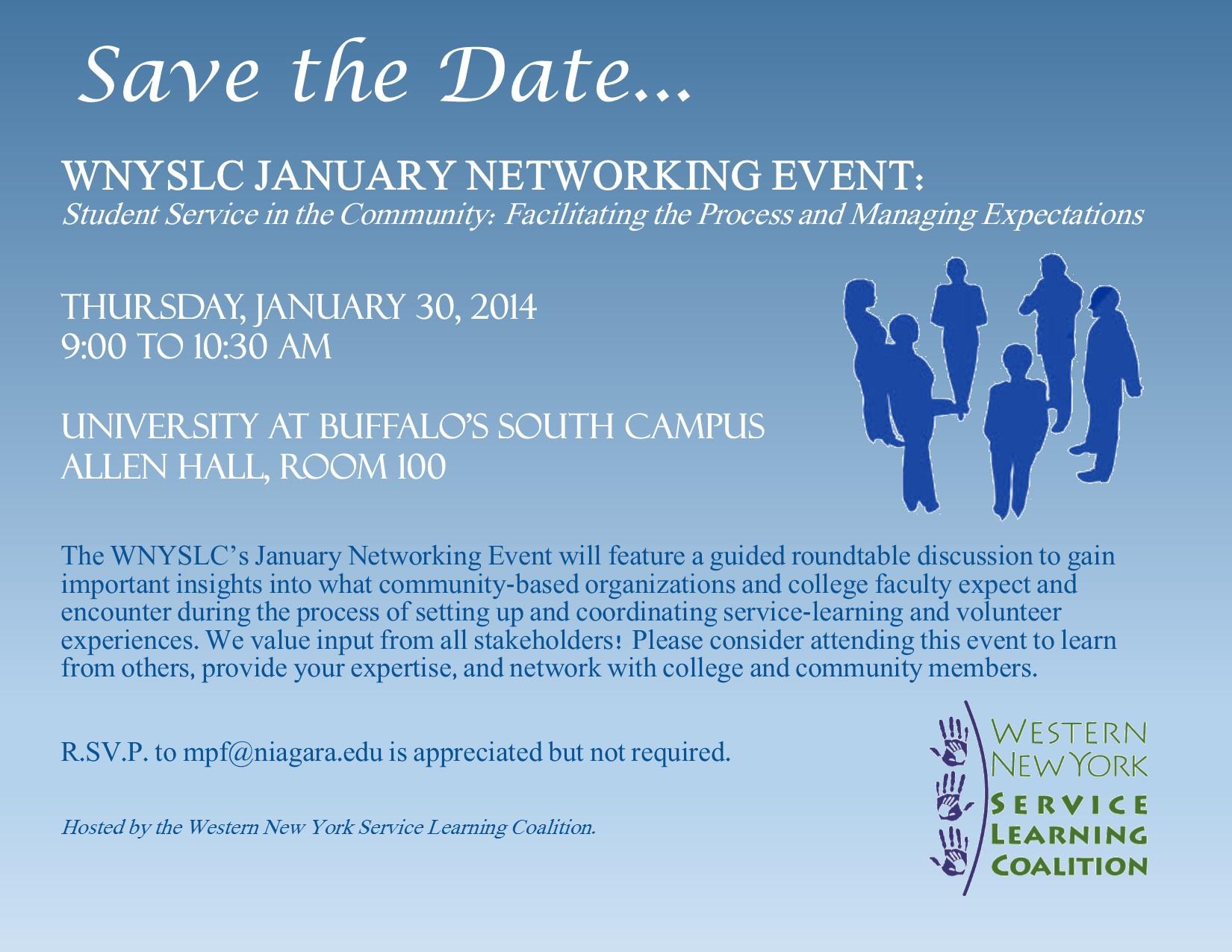 WNYSLC Program - January 2014