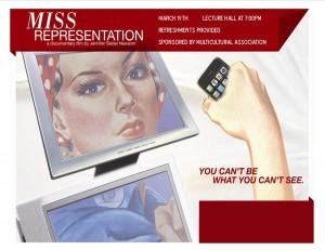 missrepresentation poster
