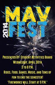 MavFest Poster Style 1