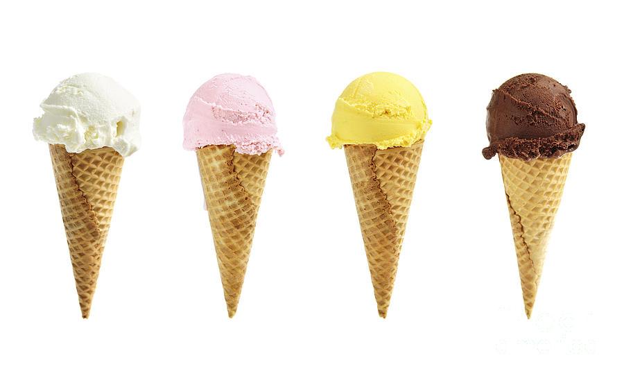 ice-cream-in-sugar-cones-elena-elisseeva