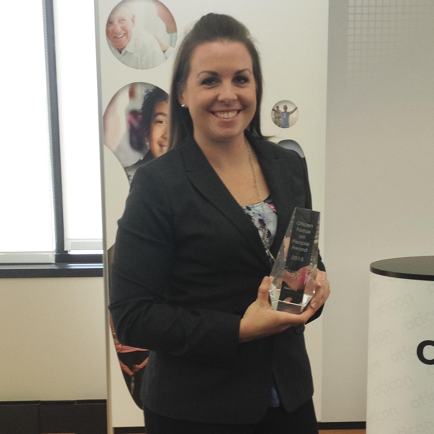 Katie Fish - Focus on People Award