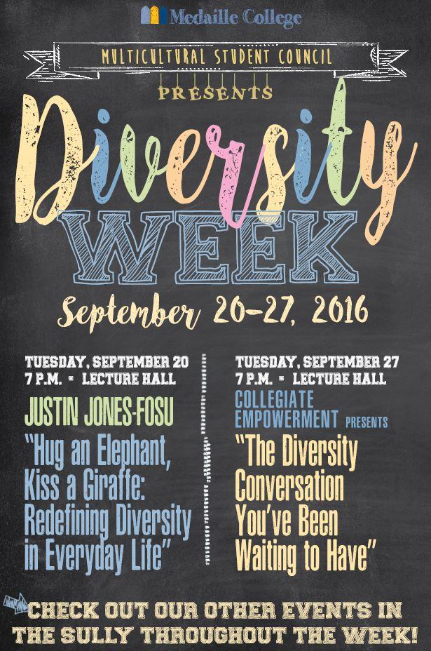 Diversity week poster photo