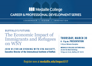 Buffalo's Future: The Economic Impact of Immigrants and Refugees on WNY @ Medaille College, Lecture Hall | Buffalo | New York | United States