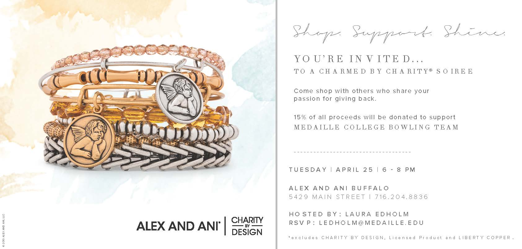 Alex and Ani flyer