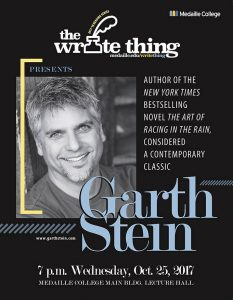 Write Thing Reading Series: Garth Stein @ Medaille College, Lecture Hall | Buffalo | New York | United States