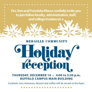 Medaille Community Holiday Reception @ Main Building Foyer | Buffalo | New York | United States