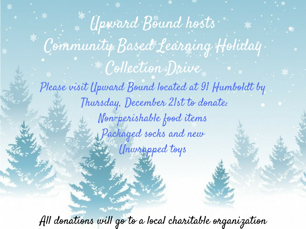 Upward Bound CBL Holiday Drive