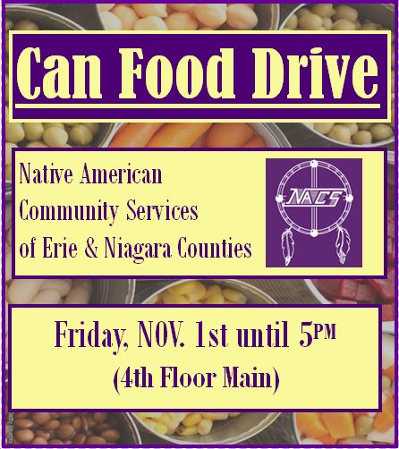 NACS Food Drive For me at Medaille