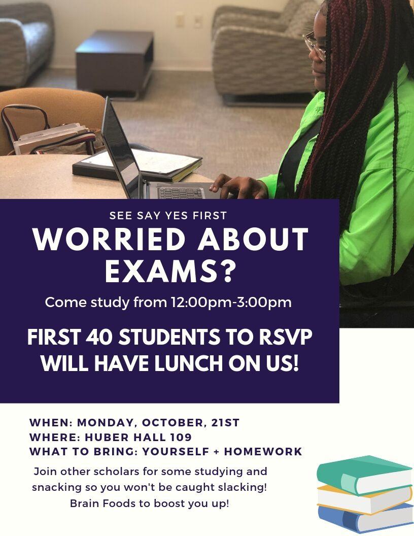 Study Event Flyer